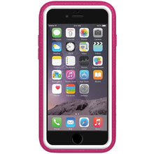Load image into Gallery viewer, AMZER CRUSTA Rugged Case Magenta on White Shell with Tempered Glass for iPhone 6