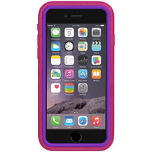 Load image into Gallery viewer, AMZER CRUSTA Rugged Case Magenta on Purple Shell With Tempered Glass for iPhone 6 Plus
