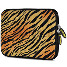Load image into Gallery viewer, AMZER 7.75 Inch Neoprene Zipper Sleeve Pouch Tablet Bag - Zebra Sands