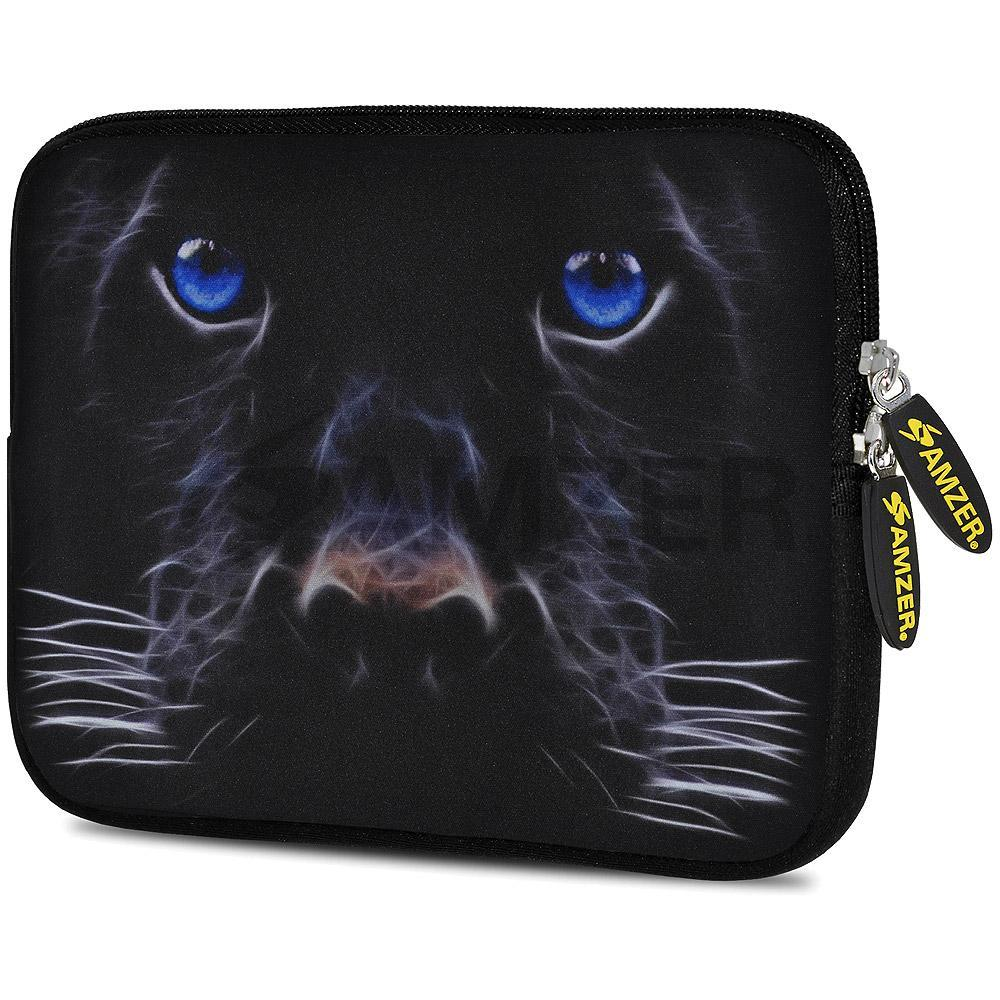 AMZER 7.75 Inch Neoprene Zipper Sleeve Pouch Tablet Bag - Blue Eyes