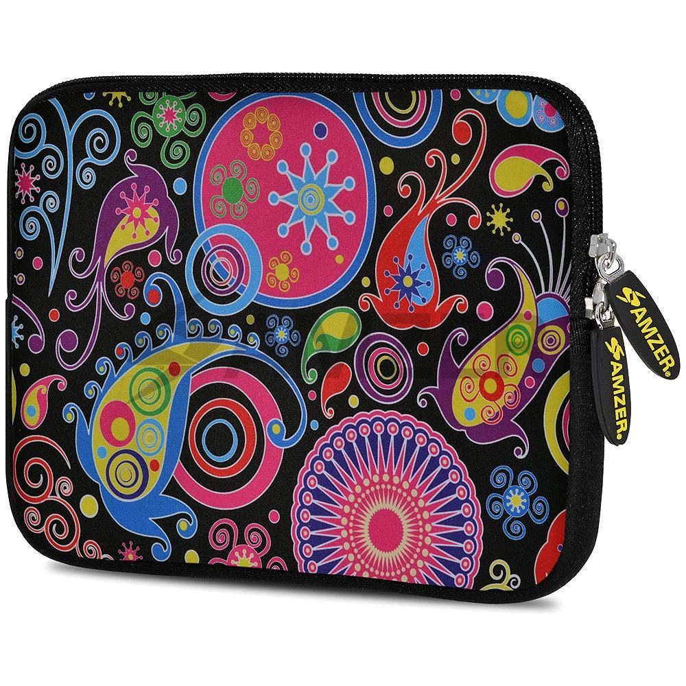 AMZER 7.75 Inch Neoprene Zipper Sleeve Pouch Tablet Bag - Jaipur Buti