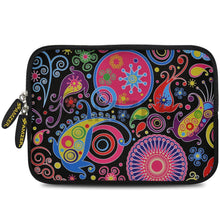 Load image into Gallery viewer, AMZER 7.75 Inch Neoprene Zipper Sleeve Pouch Tablet Bag - Jaipur Buti