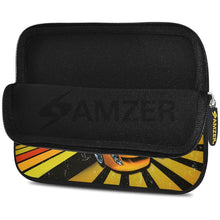 Load image into Gallery viewer, AMZER 7.75 Inch Neoprene Zipper Sleeve Pouch Tablet Bag - Shinning Racer