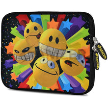 Load image into Gallery viewer, AMZER 10.5 Inch Neoprene Zipper Sleeve Pouch Tablet Bag - Emotions