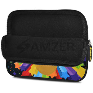 AMZER 10.5 Inch Neoprene Zipper Sleeve Pouch Tablet Bag - Emotions