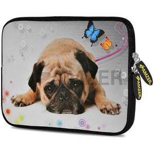 AMZER 10.5 Inch Neoprene Zipper Sleeve Pouch Tablet Bag - Cute Boxer