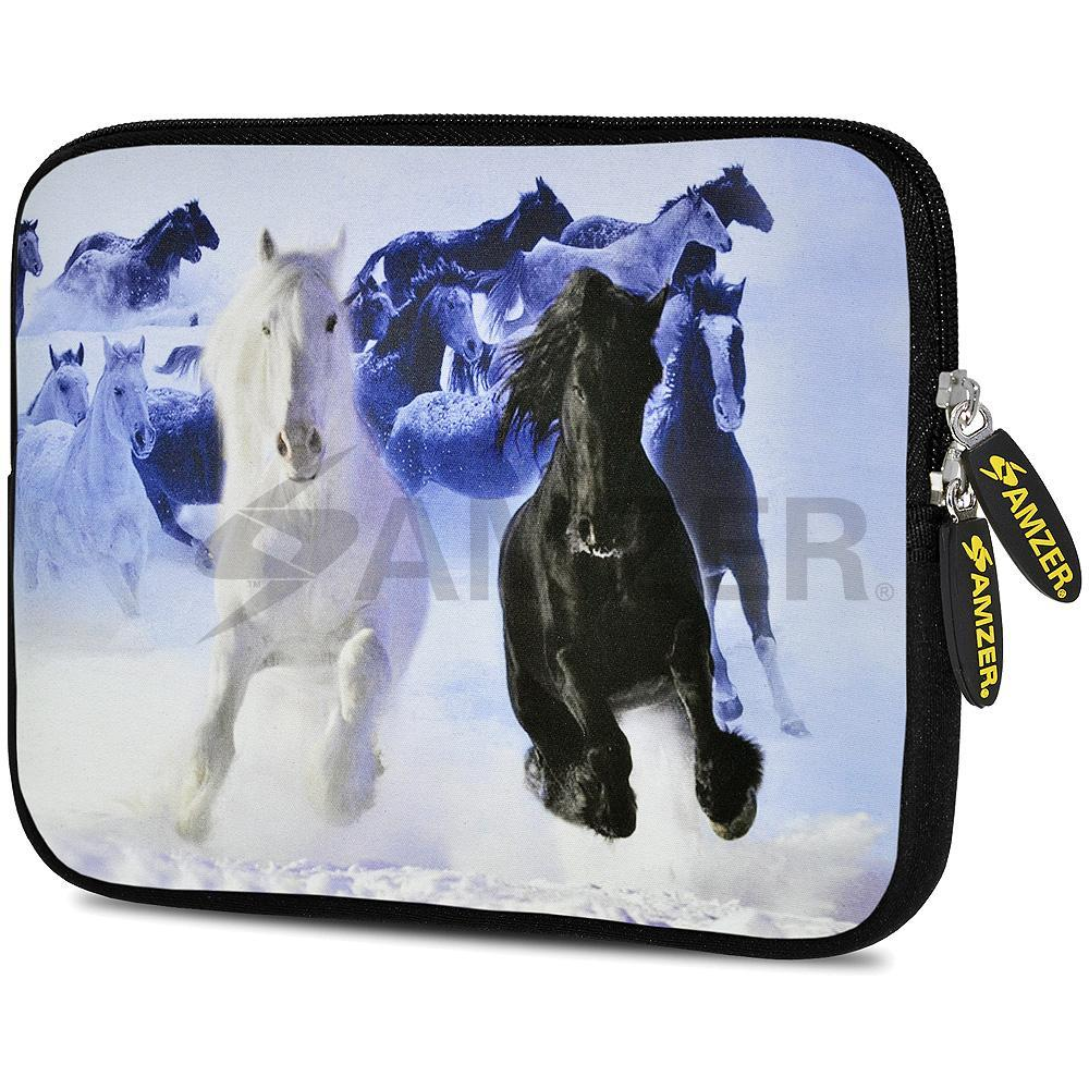 AMZER 10.5 Inch Neoprene Zipper Sleeve Pouch Tablet Bag - Colts