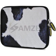 Load image into Gallery viewer, AMZER 10.5 Inch Neoprene Zipper Sleeve Pouch Tablet Bag - Cow Hide