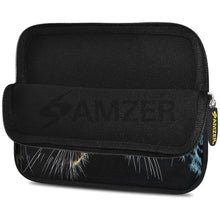 Load image into Gallery viewer, AMZER 7.75 Inch Neoprene Zipper Sleeve Pouch Tablet Bag - Leopard Face Off