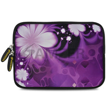 Load image into Gallery viewer, AMZER 7.75 Inch Neoprene Zipper Sleeve Pouch Tablet Bag - Purple Contessa