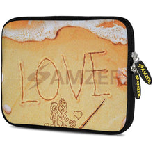 Load image into Gallery viewer, AMZER 7.75 Inch Neoprene Zipper Sleeve Pouch Tablet Bag - Surf Love