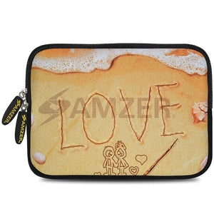 AMZER 7.75 Inch Neoprene Zipper Sleeve Pouch Tablet Bag - Surf Love