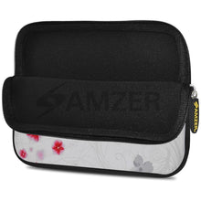 Load image into Gallery viewer, AMZER 10.5 Inch Neoprene Zipper Sleeve Pouch Tablet Bag - Periwinkles