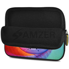 Load image into Gallery viewer, AMZER 7.75 Inch Neoprene Zipper Sleeve Pouch Tablet Bag - Sun Signs