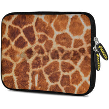 Load image into Gallery viewer, AMZER 10.5 Inch Neoprene Zipper Sleeve Pouch Tablet Bag - Giraff Safari