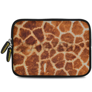 AMZER 10.5 Inch Neoprene Zipper Sleeve Pouch Tablet Bag - Giraff Safari