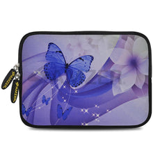 Load image into Gallery viewer, AMZER 10.5 Inch Neoprene Zipper Sleeve Pouch Tablet Bag - Butterfly Swish