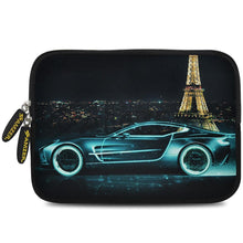 Load image into Gallery viewer, AMZER 7.75 Inch Neoprene Zipper Sleeve Pouch Tablet Bag - Racer Accent