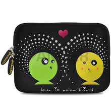 Load image into Gallery viewer, AMZER 10.5 Inch Neoprene Zipper Sleeve Pouch Tablet Bag - Fountain Dots