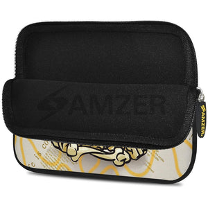 AMZER 10.5 Inch Neoprene Zipper Sleeve Pouch Tablet Bag - Baby Sketch