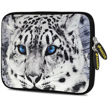 Load image into Gallery viewer, AMZER 7.75 Inch Neoprene Zipper Sleeve Pouch Tablet Bag - Siberian Cat
