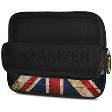 Load image into Gallery viewer, AMZER 7.75 Inch Neoprene Zipper Sleeve Pouch Tablet Bag - Antique Union Jack