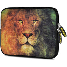 Load image into Gallery viewer, AMZER 7.75 Inch Neoprene Zipper Sleeve Pouch Tablet Bag - King Lion
