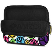 Load image into Gallery viewer, AMZER 10.5 Inch Neoprene Zipper Sleeve Pouch Tablet Bag - Peace United