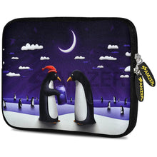 Load image into Gallery viewer, AMZER 10.5 Inch Neoprene Zipper Sleeve Pouch Tablet Bag - Penguin Life