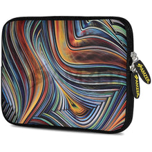 Load image into Gallery viewer, AMZER 10.5 Inch Neoprene Zipper Sleeve Pouch Tablet Bag - Vortex Lines