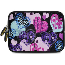 Load image into Gallery viewer, AMZER 10.5 Inch Neoprene Zipper Sleeve Pouch Tablet Bag - Pattern Heart