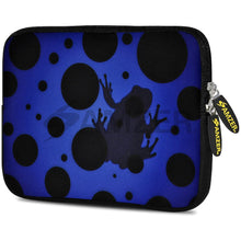 Load image into Gallery viewer, AMZER 7.75 Inch Neoprene Zipper Sleeve Pouch Tablet Bag - Blue Night Universe