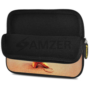 AMZER 10.5 Inch Neoprene Zipper Sleeve Pouch Tablet Bag - Star Fish