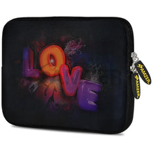 Load image into Gallery viewer, AMZER 10.5 Inch Neoprene Zipper Sleeve Pouch Tablet Bag - Cortex Glow