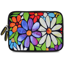 Load image into Gallery viewer, AMZER 7.75 Inch Neoprene Zipper Sleeve Pouch Tablet Bag - Summer Garden