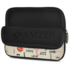 Load image into Gallery viewer, AMZER 10.5 Inch Neoprene Zipper Sleeve Pouch Tablet Bag - Enchanted Love