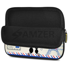 Load image into Gallery viewer, AMZER 10.5 Inch Neoprene Zipper Sleeve Pouch Tablet Bag - Parisian Date