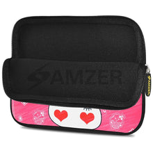 Load image into Gallery viewer, AMZER 10.5 Inch Neoprene Zipper Sleeve Pouch Tablet Bag - Cute Bunny Ears