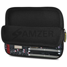 Load image into Gallery viewer, AMZER 7.75 Inch Neoprene Zipper Sleeve Pouch Tablet Bag - Hi Tech Brain