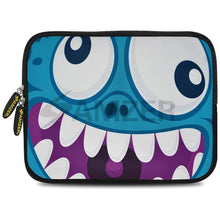 Load image into Gallery viewer, AMZER 7.75 Inch Neoprene Zipper Sleeve Pouch Tablet Bag - Wicked Laughter