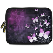 Load image into Gallery viewer, AMZER 10.5 Inch Neoprene Zipper Sleeve Pouch Tablet Bag - Butterfly Maddison