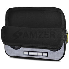 Load image into Gallery viewer, AMZER 10.5 Inch Neoprene Zipper Sleeve Pouch Tablet Bag - Grey Trendy Player
