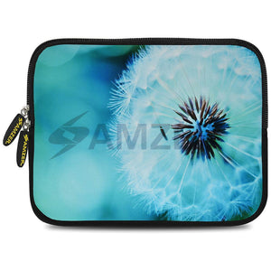 AMZER 10.5 Inch Neoprene Zipper Sleeve Pouch Tablet Bag - Dandelion Close By