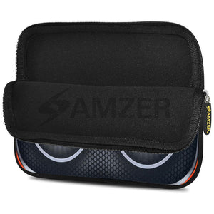AMZER 10.5 Inch Neoprene Zipper Sleeve Tablet Pouch - Boom Shakalaka Speakers