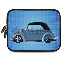 Load image into Gallery viewer, AMZER 7.75 Inch Neoprene Zipper Sleeve Pouch Tablet Bag - Classic Beetle Grid