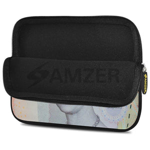 AMZER 7.75 Inch Neoprene Zipper Sleeve Pouch Tablet Bag - Pound Sterling Note