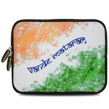 Load image into Gallery viewer, AMZER 10.5 Inch Neoprene Zipper Sleeve Pouch Tablet Bag - Vande Mataram