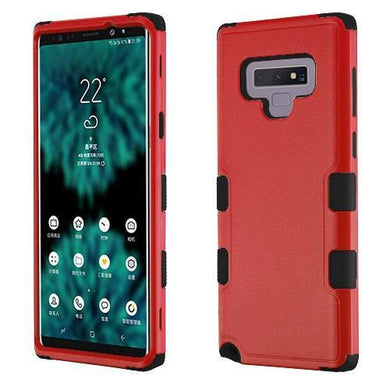 AMZER® TUFFEN Hybrid Phone Protector Cover - Red/Black for Samsung Galaxy Note9