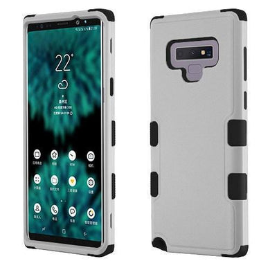 AMZER® TUFFEN Hybrid Phone Protector Cover - Gray/Black for Samsung Galaxy Note9