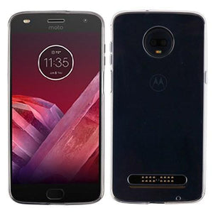 AMZER® Soft Gel TPU Gloss Skin Case - Clear for Motorola Moto Z3